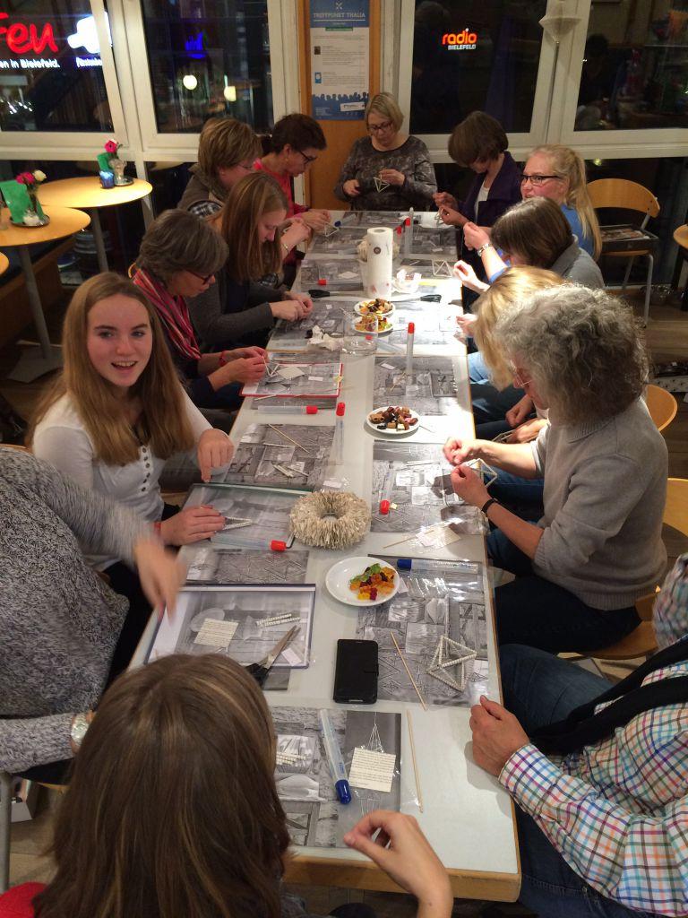 Kreativevent bei Thalia Bielefeld
