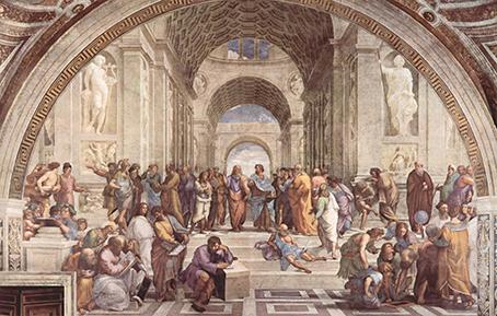 Raffael_Die Schule von Athen