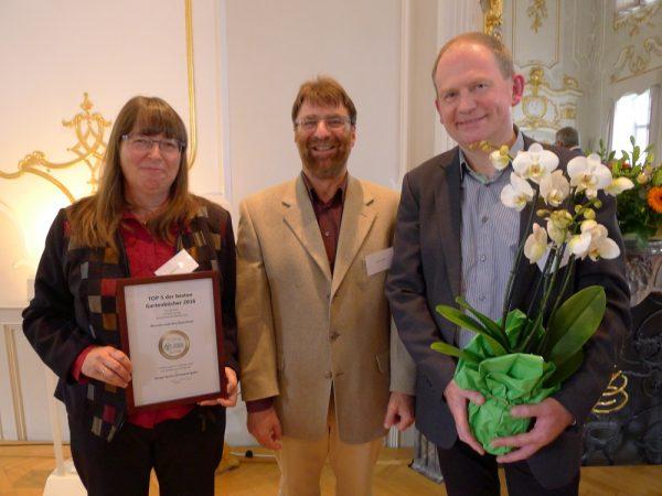Margot und Roland Spohn (Autoren), Frank Heins (Marketingleiter Haupt Verlag)