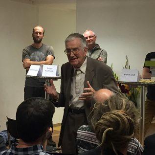 Wir gratulieren Gerhart Wagner, Autor der «Flora Helvetica», zum 100. Geburtstag