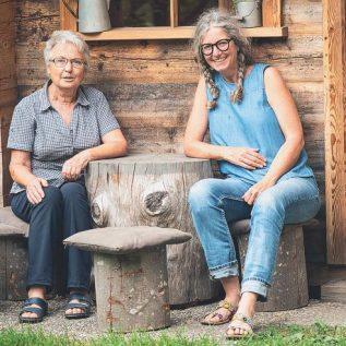 HauptAutorinnen Trudi Ziegler-Baumann und Barbara Baumann: Klosterarbeiten